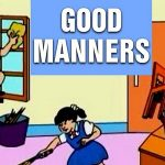 essay on good manners in hindi