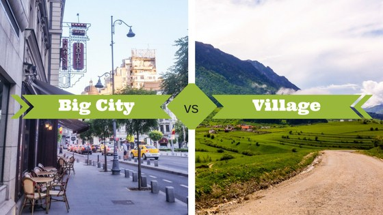essay on village life versus city life Free essays on country life vs city life  cities vs villages city life are physical facilities, the appeal of village life is natural and pollution free .