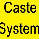 Speech on Caste System in Hindi