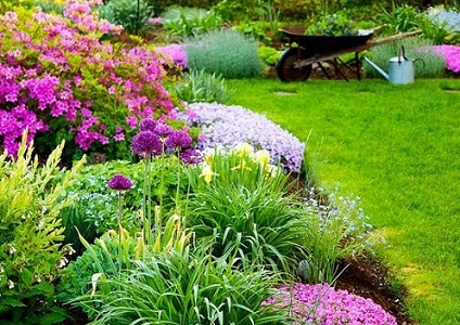 Essay on Garden in Hindi