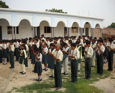 school assembly in hindi