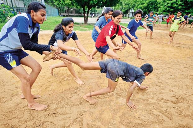 Essay on Kabaddi in Hindi