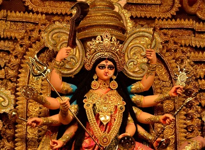 simple essay on durga puja in hindi