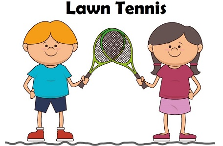 Essay on Lawn Tennis in Hindi