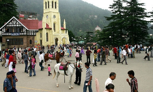 Essay on Shimla in Hindi Language