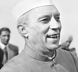 Essay on Jawaharlal Nehru in Sanskrit