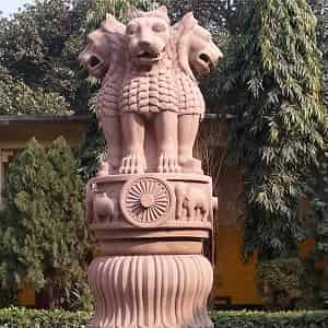 Essay on National Emblem of India in Hindi